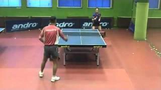 Настольный теннис. Тренировка по защите. Часть 1.mp4