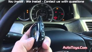Honda Accord Remote Start with Regular Key  Compustar  AutoToys Com
