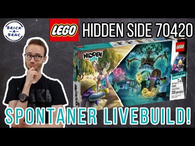 Spontanstream zur Mittagszeit! Let's build: LEGO® Hidden Side 70420 Friedhof!