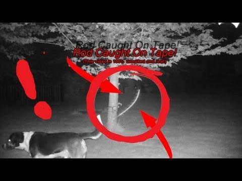 UFO SkyFish Rod Caught On Tape!