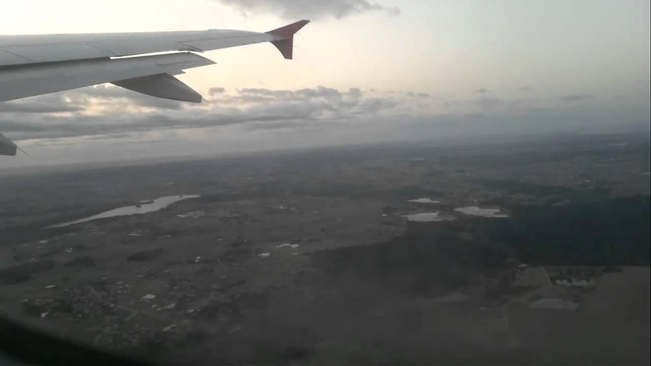 Start samolotu Airbus A320 linii WizzAir - YouTube