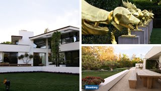 Take a Tour of Napster Co-Founder Sean Parker's Incredible Mansion