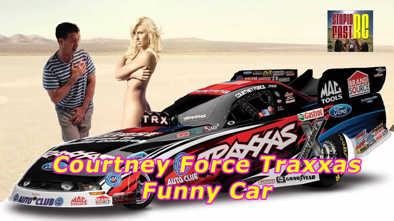 Courtney Force Traxxas Funny Car Rc Youtube