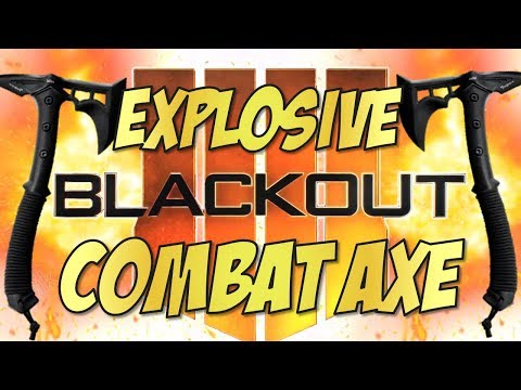 50 MOST EXPLOSIVE COMBAT AXE MOMENTS EVER!!! in Call of Duty BLACKOUT thumbnail