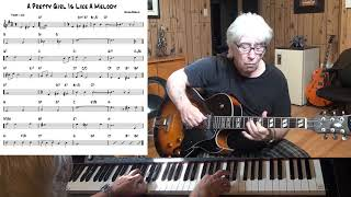 A Pretty Girl Is Like A Melody - Jazz guitar & piano cover ( Irving Berlin )
