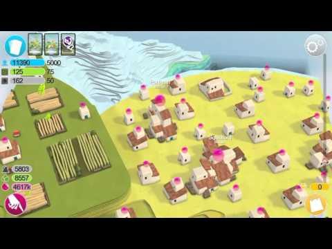 Godus - Over 10K - Island is full
