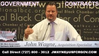 Under Bidding VS Over Bidding John Wayne Government Contracts  proposal writing Capabilities Stateme