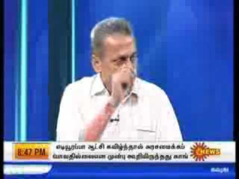 muthukrishnan advocate  vs Rss (Sun Tv interview) part-2.flv