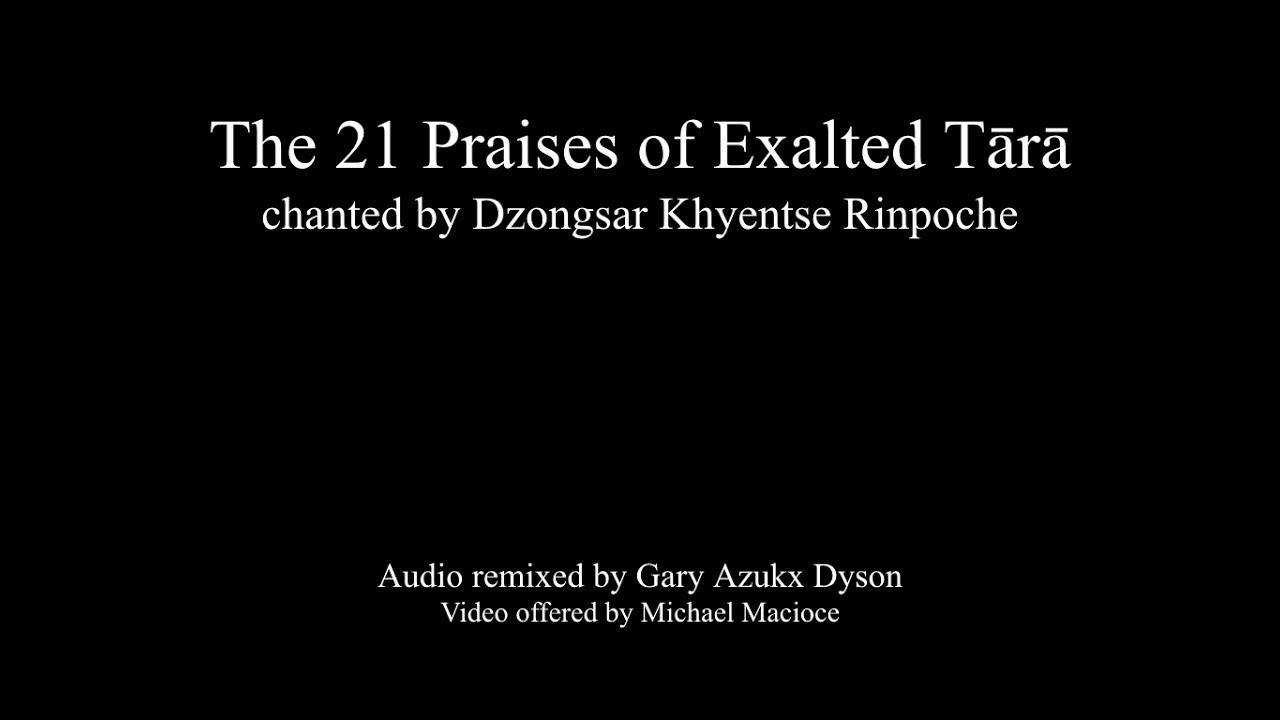 Homage to Tara, The Patron of Khyentse Foundation - Khyentse