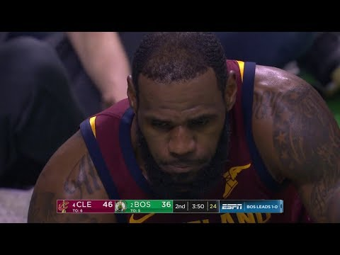 LeBron James Injury - Heads to Locker Room - Game 2 | Cavaliers vs Celtics | 2018 NBA East Finals