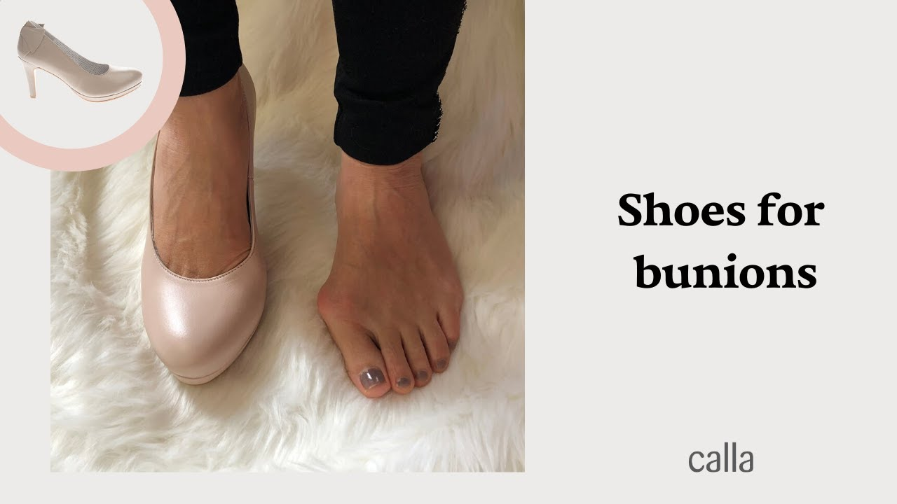 Stylish and comfortable high heels for bunions