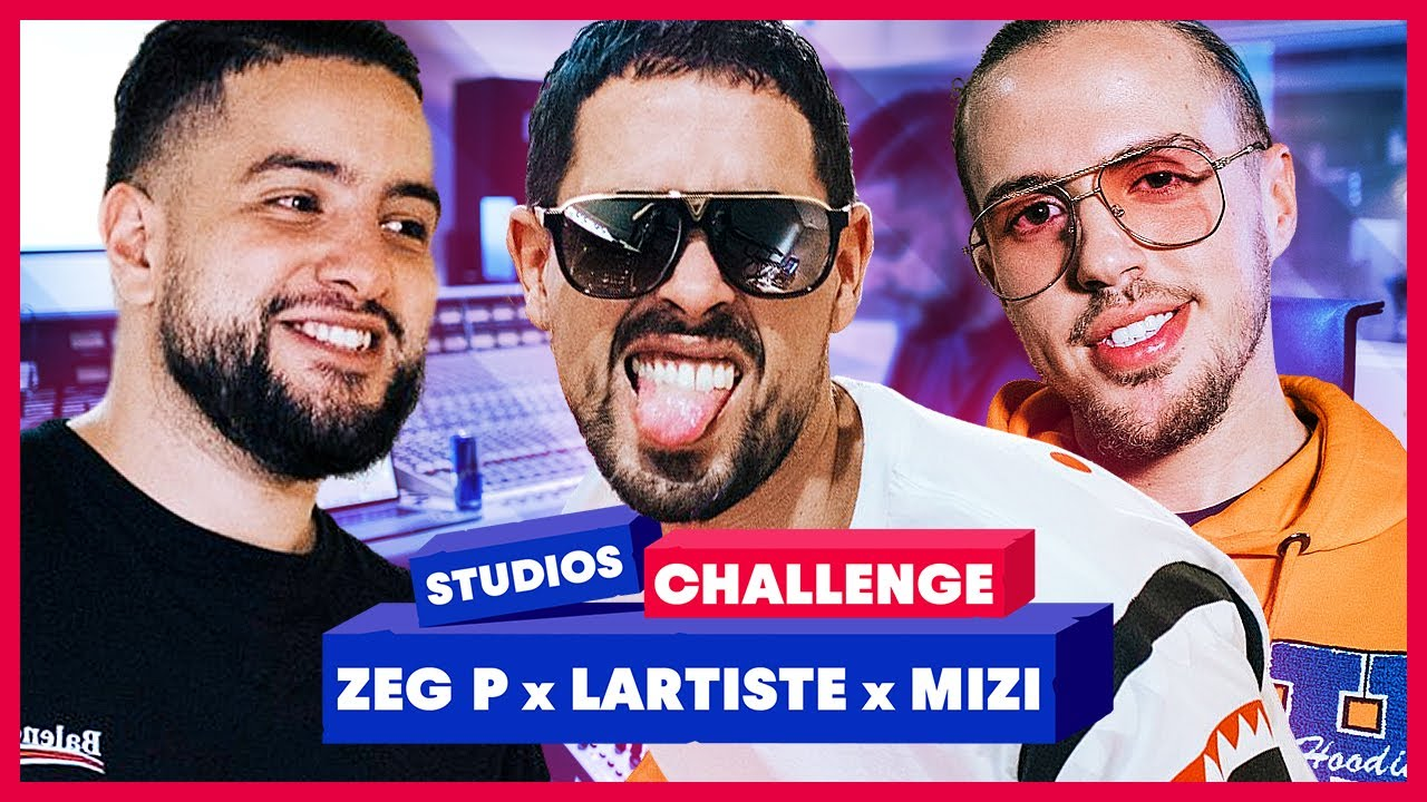 Lartiste et Mizi chauffent la prod de Zeg P - Red Bull Studios Challenge #9