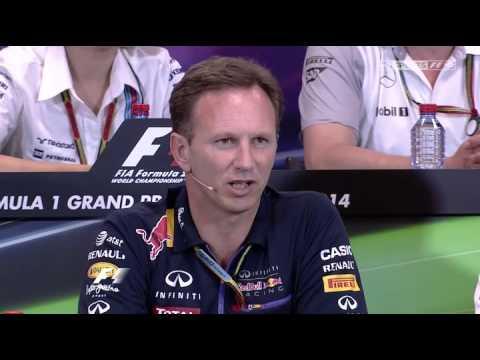 F1 2014 Monaco Grand Prix Team Principals Press Conference HD 720p