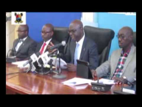 Lagos State Government Ministry of Justice, 2014 Ministerial Press Briefing