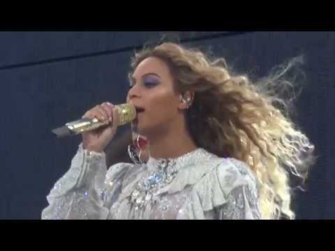 Beyoncé - Mine (Live in Brussels, Belgium - Formation World Tour) Front Row HD
