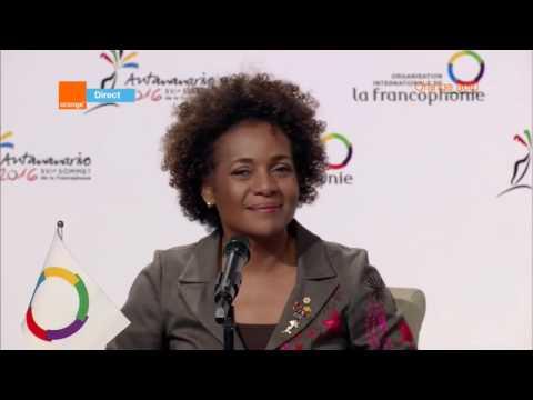 Replay - Conférence de presse finale du XVIè Sommet de la Francophonie d'Antananarivo