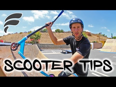 TOP 5 INTERMEDIATE SCOOTER TRICKS (HOW TO)