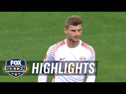 RB Leipzig vs. VfB Stuttgart | 2017-18 Bundesliga Highlights