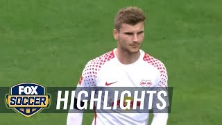 RB Leipzig vs. VfB Stuttgart | 2017-18 Bundesliga Highlights