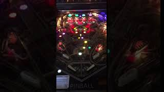 Space Invaders Pinball LED on playfield