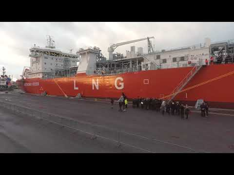 The Naming Ceremony of the LNG Carrier Coral EnergICE