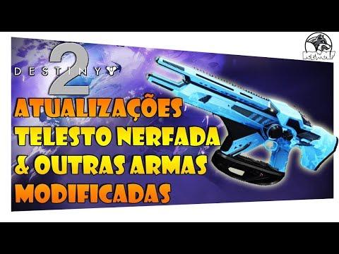 DESTINY 2 - ATUALIZAÇÕES TELESTO NERFADA & OUTRAS ARMAS MODIFICADAS thumbnail