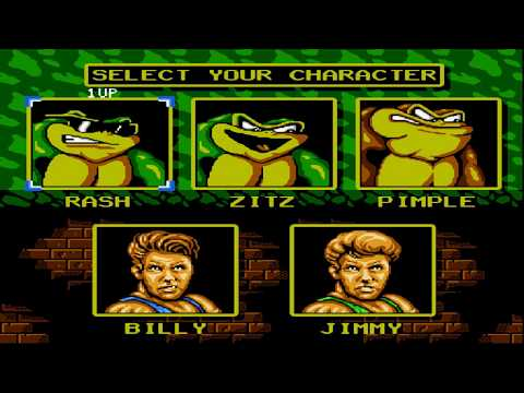 Battletoads And Double Dragon Hack L7 V2 (Dendy)