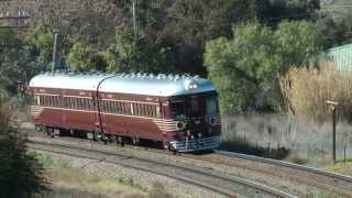 Heritage NSWGR 620/720 Class Railmotor at Harden, NSW