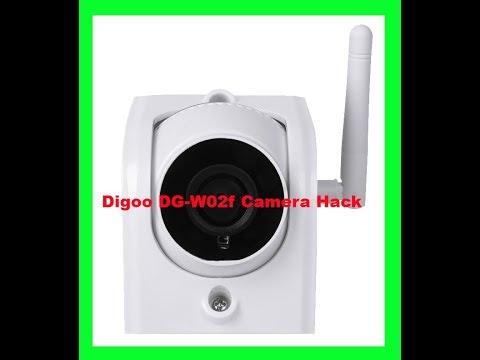Digoo DG-W02f Camera ONVIF RTSP Hack For Free Use