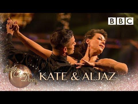 Kate Silverton & Aljaz Skorjanec Viennese Waltz to 'Finally Mine'- BBC Strictly 2018