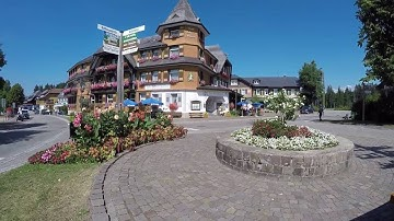 STREET VIEW: Hinterzarten im Schwarzwald in GERMANY