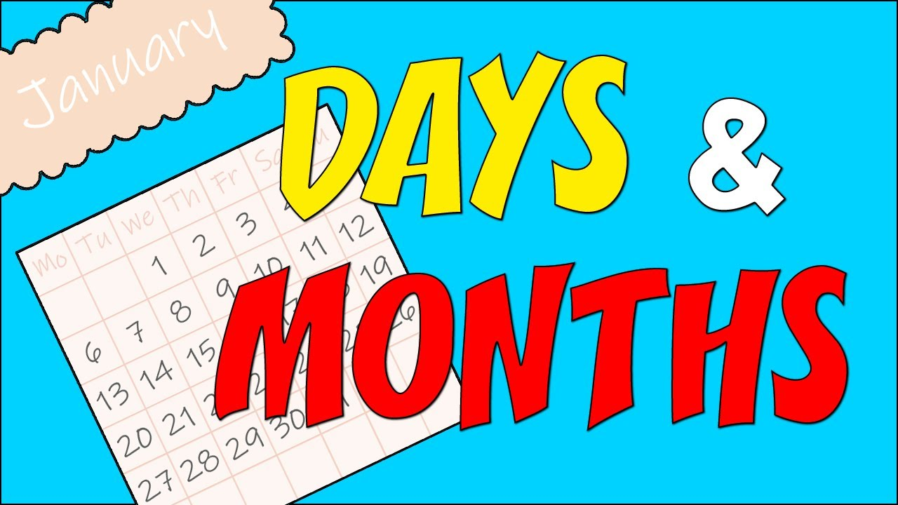Download Days and Months of The Year - Vocabulary | Minimal English