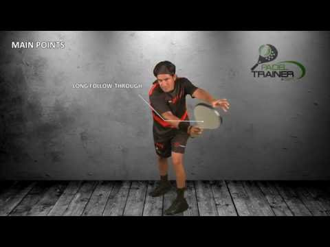 PADEL TRAINER - Forehand and variations