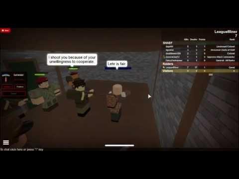 How GeneralJon12's SHAEF Treats Prisoners.