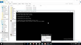 Could not open input file artisan error (Laravel) || php artisan serve not working (Laravel)