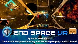 End Space VR - The Best space shooting VR 3D SBS game for Google Cardboard
