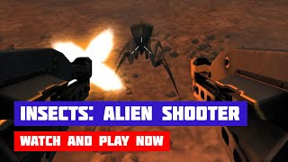 Insects: Alien Shooter · Game · Gameplay