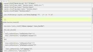 Как создать свое меню в кс 1.6(, 2015-04-15T05:29:29.000Z)
