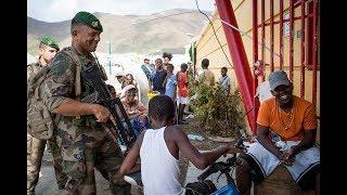 إعصار إيرما : الجيش في السرير من جزر الهند الغربية (#JDEF)