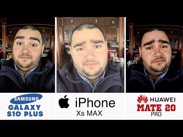 Samsung Galaxy S10+ vs iPhone Xs Max vs Huawei Mate 20 Pro | أفضل كاميرا موبايل في العالم ؟ !