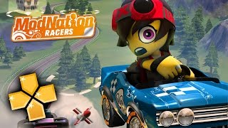 Modnation Racers PPSSPP Gameplay Full HD / 60FPS