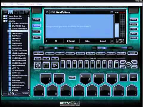 BTV Solo Software Video Tutorial - Making Beats Music For Beginners !!