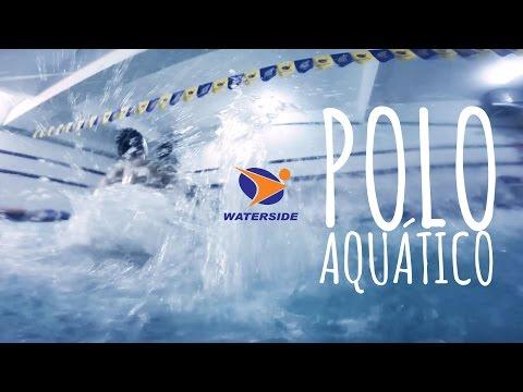 Waterside Academia - Jogo de Polo Aquático