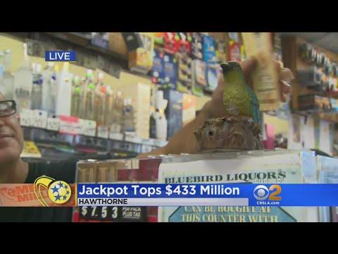 Mega Millions Jackpot Tops $433 Million