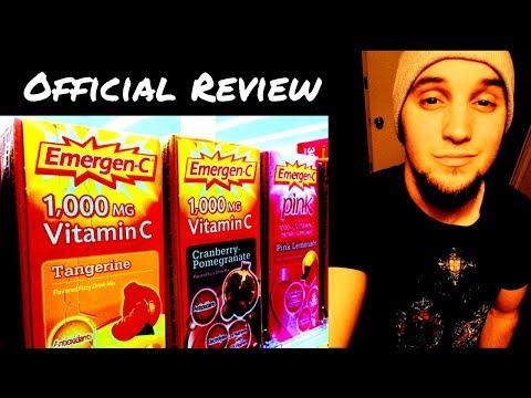 Emergen-C Review - Super Orange - 1,000mg Vitamin C Dietary Supplement