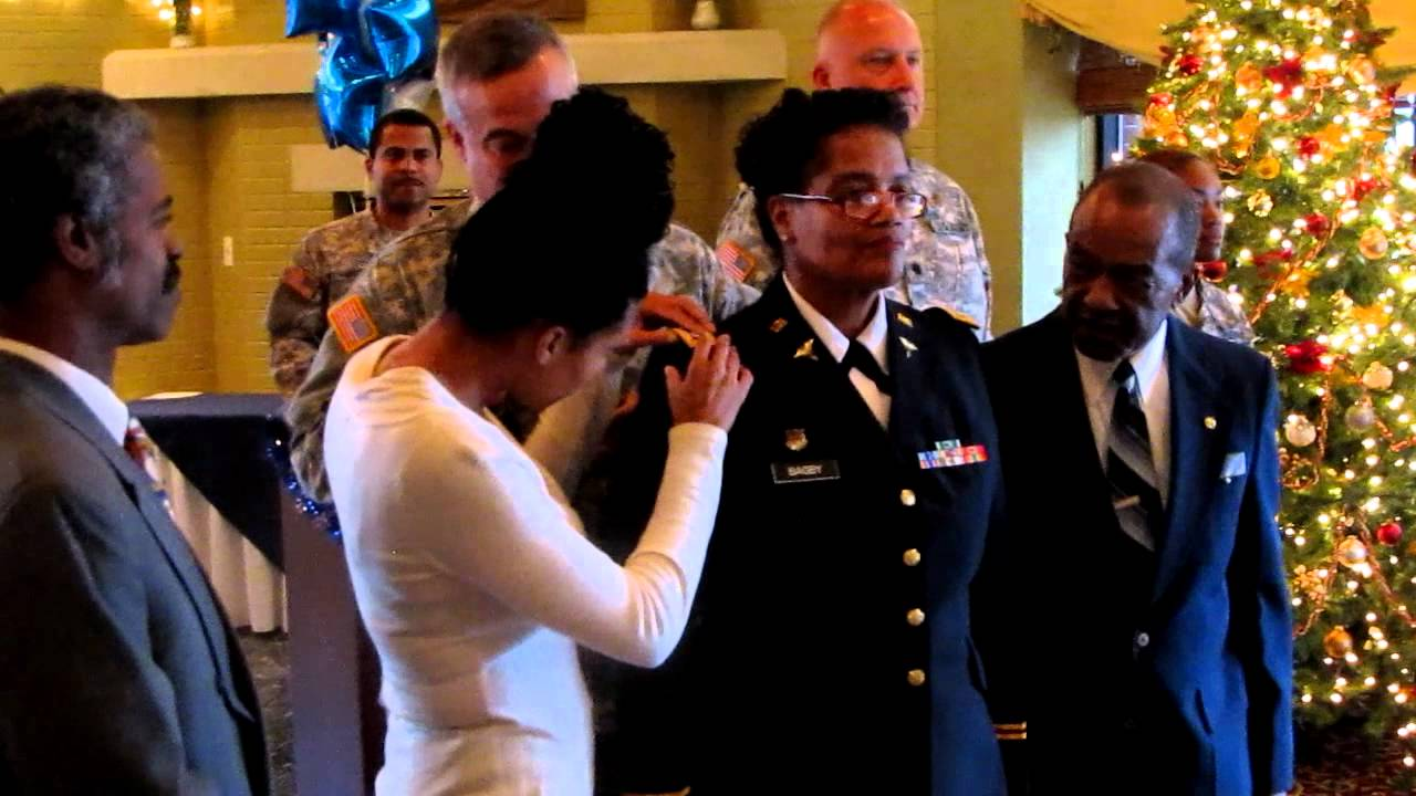 The Pinning Ceremony
