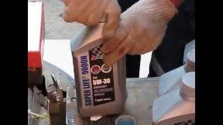 Nissan X-Trail Замена масла в двигателе