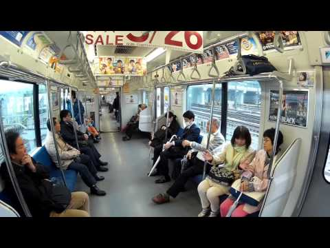 160307 (1/7) Ueno Station: Transfer from Joban Line to Yamanote LIne