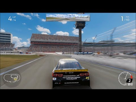 NASCAR Heat 4 - Charlotte Motor Speedway Roval - Gameplay (Xbox One X HD) [1080p60FPS]