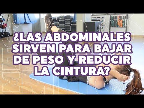 ¿Las abdominales en verdad ayudan a bajar de peso y reducir la cintura?